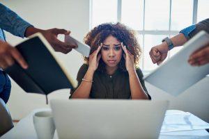 عوارض استرس و فشار عصبی