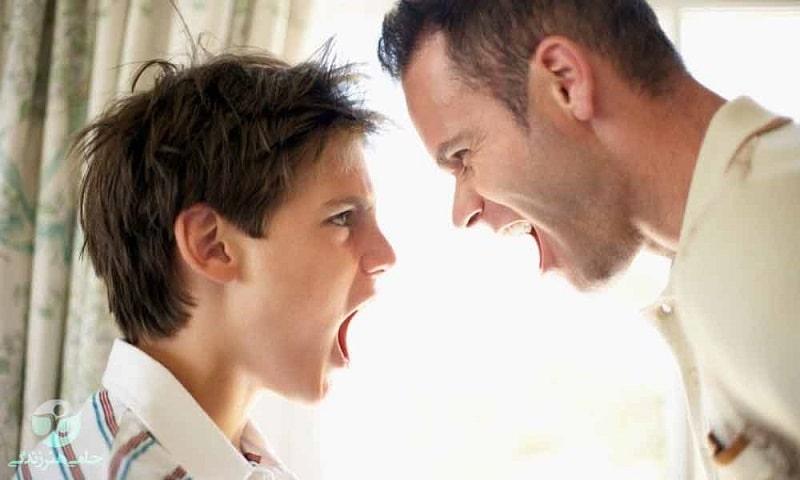مشاوره و برخورد با نوجوان پرخاشگر