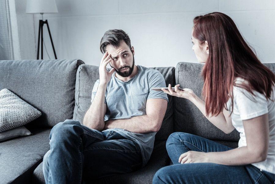 مشکلات بین زن و مرد