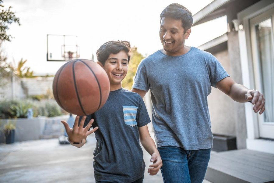 ورزش با کودک
